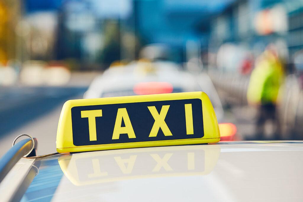 Bahn Verspätung Taxi