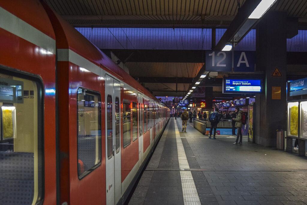 Zugbindung Verspätung