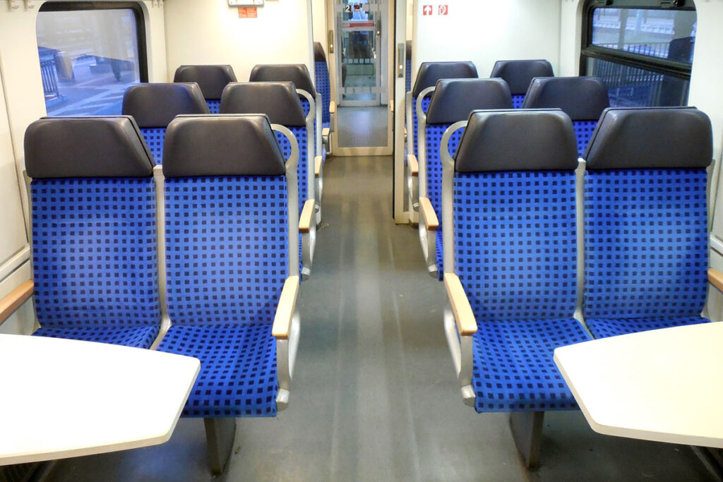 Sitzplatzreservierung Bahn stornieren