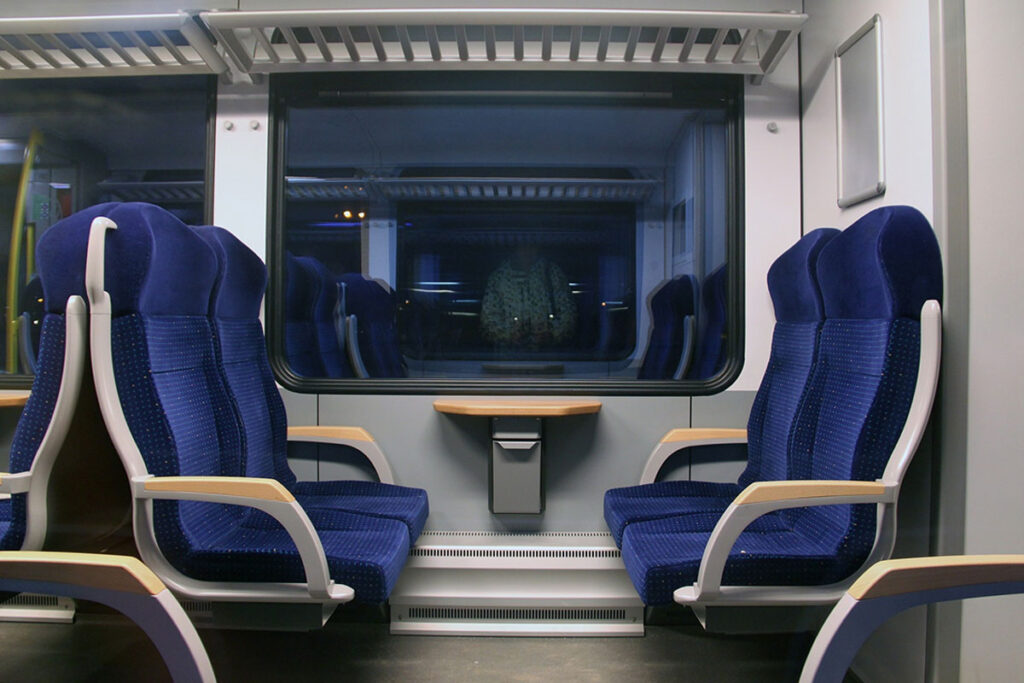 Zugfahrt was mitnehmen