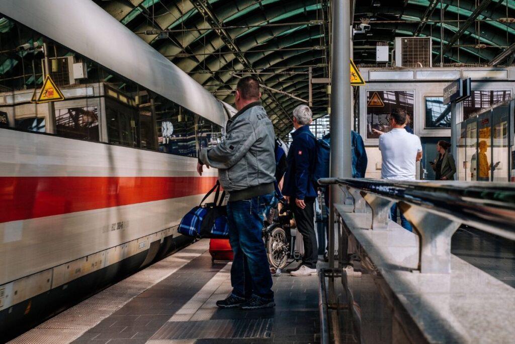 Sparpreis und Flexpreis Tickets der Deutschen Bahn